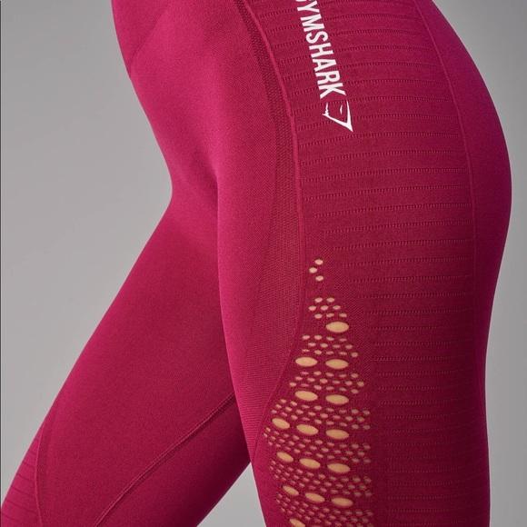 550fa9179fa8ae Gymshark Pants | Seamless Energy Leggingread Description | Poshmark